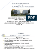 Cerebral Anatomy and Physiology Part Iids08