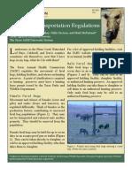 Feral Hog Transportation Regulations