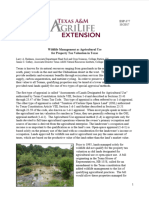 Wildlife Management as Agricultural Use for Property Tax Valuation in TX