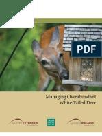 Managing Overabundant White-Tailed Deer