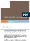 Ward 7 Projects and Programs