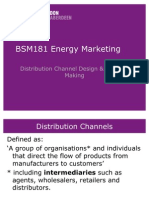 Distribution Channel Design Decision Making
