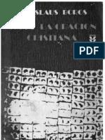 416 - Boros, Ladislaus - Sobre La Oracion Cristiana