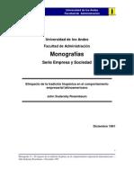 Tradicón Hispanica y Empresarial 1981