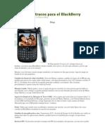 Consejos y Trucos Para El Blackberry
