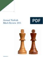 Turkey Tr Annual Turkish m&a 060112