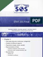 Stat 231 Final Slides