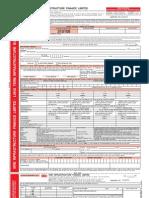 SREI Infrastructure Bond Application Form
