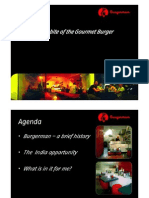 Burgerman - India Presentation