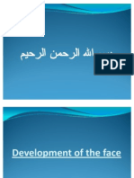 Development of the Face,Palate,Tongue