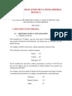 MANUAL DE APLICACIÓN DE LA FICHA PREDIAL RUSTICA
