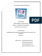 Baskin Robbin Report