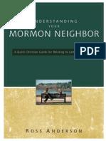 Understanding Your Mormon Neighbor by Ross Anderson