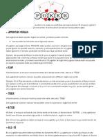 Reglas Del Poker Básicas