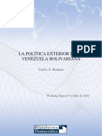 Política exterior de Venezuela en tiempos de Hugo Chávez