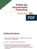 Analise de Indices de Rentabilidade