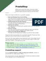 Manual de Actualizacion de Prestashop