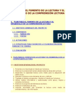Plan Fomento de La Lectura CEIP Narciso Yepes