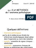 Buts Et Méthodes De L'Anatomie Pathologique
