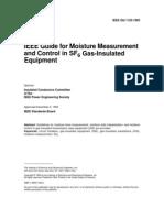 IEEE 1125-1993 _SF6 Equipment_dew Point