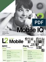 L2 Research Mobile IQ 2012