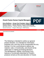 Oracle Fusion HCM Overview Webcast 12162011