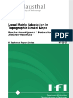 Banchar Arnonkijpanich, Barbara Hammer and Alexander Hasenfuss- Local Matrix Adaptation in Topographic Neural Maps
