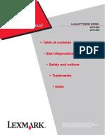 Lexmark E260D Service Manual