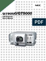 Nec Gt5000 Manual