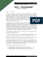 Antropologia - Introdução e e Conceito