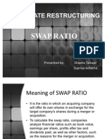 Swap Ratio Cr