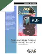 Admin is Trac Ion de Bases de Datos Con SQL Server 7