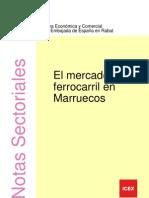 ElFerrocarril en Marruecos