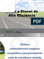Motor Etanol Alta Eficiencia Langeani Next Engine Tech Etanol-VE-2011