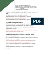 Banco de Preguntas Supervisor de Buceo Reglamentacion Maritima