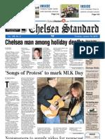 Chelsea Standard Front Page Jan. 12, 2012