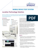 8100 MDTS UMTS Location Technology