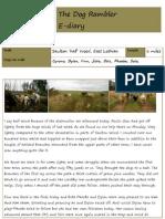 The Dog Rambler e-diary 11 January 2012