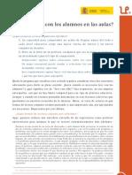 ¿Por qué leer con los alumnos en las aulas? Emilio Sánchez Miguel