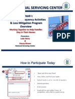 Webinar I HUD Early Delinquency Activities and Loss Mitigation Program Overview - Participant Copy