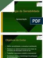 Pedagogia da Sensibilidade - apresentação