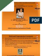 Pt. Shriram Sharma Aacharya's Life History
