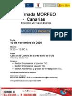 i Jornada Morfeo Canarias