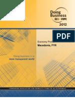 Doing Business Macedonia 2012