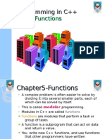 Chapter 4 Functions