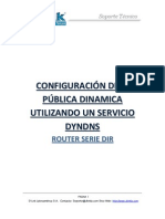 Configuracion de IP Publica Dinamica Con Servicio DYNDNS Router Serie DIR