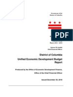 Fy10 Unified Economic Development Report
