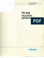 Tek Tr502_sm Tracking Gen