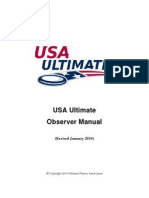 usa ultimate observer manual