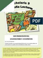 Los presocraticos - Anaximenes y Anaximandro - Scholaris 9